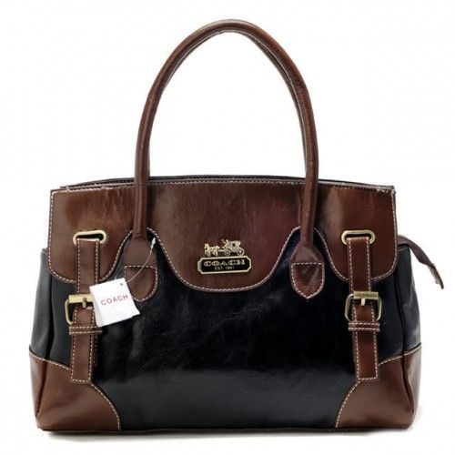 Coach leather satchel with front pockets and single strap - Bing Images