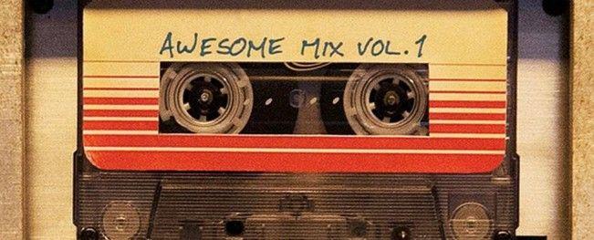 Découvrez le détail de l'album du film #LesGardiensDeLaGalaxie avec David Bowie, Marvin Gaye ou les Jackson 5