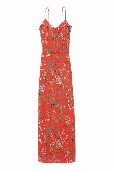 Robe longue à fleurs, Etam, 59,99 €.