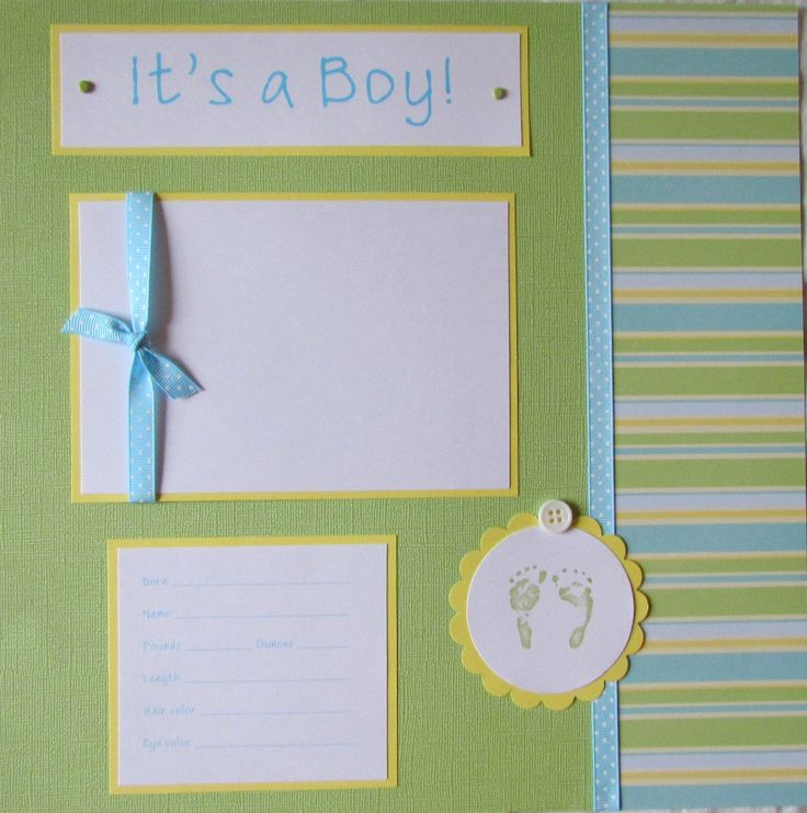 13 Best Baby Boy Scrapbook Ideas Images On Pinterest Photo Books