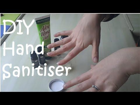DIY Hand Sanitiser - Simple and Effective - YouTube