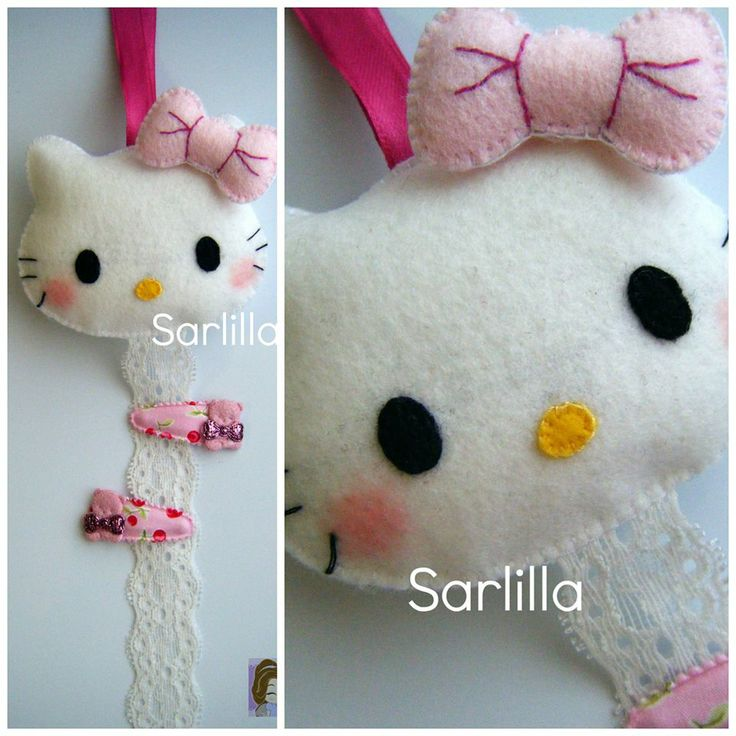 Porta-mollette di Hello Kitty