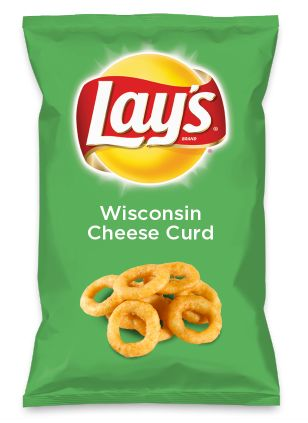 Wouldn't Wisconsin Cheese Curd be yummy as a chip? Lay's Do Us A Flavor is back, and the search is on for the yummiest flavor idea. Create a flavor, choose a chip and you could win $1 million! https://www.dousaflavor.com See Rules.