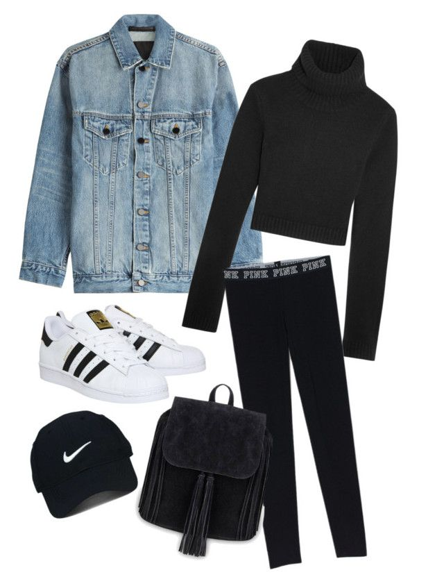"""Denim"" by canara-imin on Polyvore featuring Alexander Wang, Michael Kors, adidas and Nike Golf"