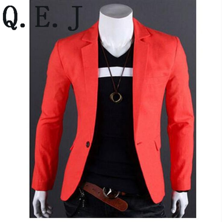Q.E.JNew Fashion Stylish Men's Suit, Men's Blazer, Business Suit, Formal Suit,7 colors Size: M-L-XL-XXL XXXL Free Shipping,R1000 //Price: $35.57 & FREE Shipping //     #hashtag4