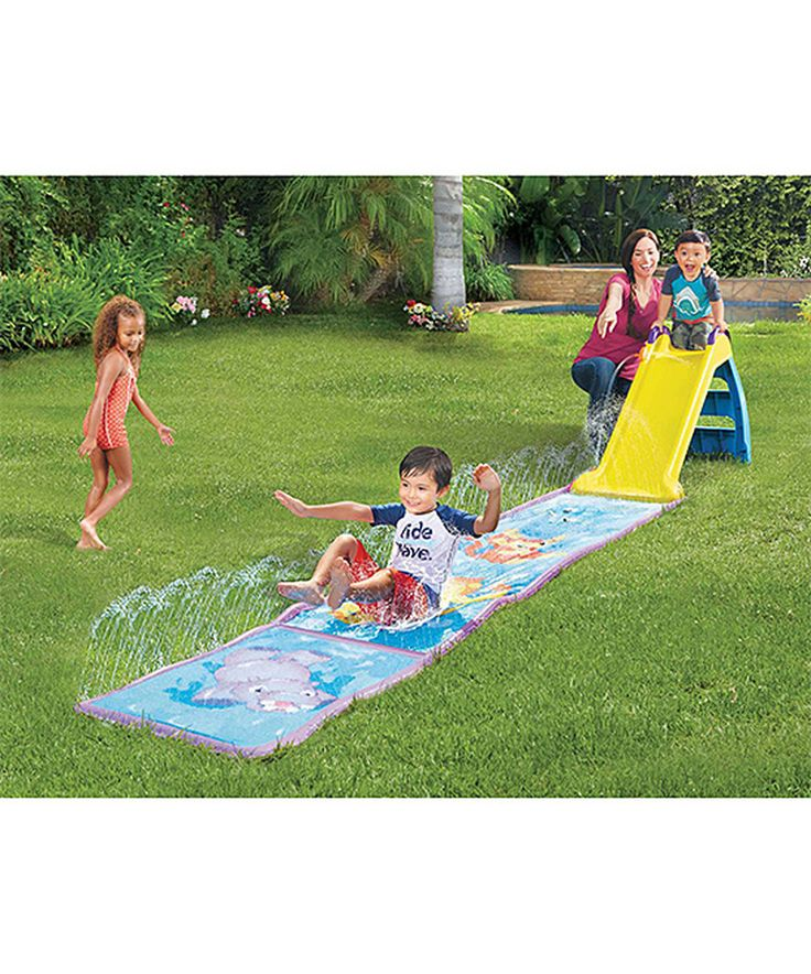 Loving this Little Tikes Little Tikes Wet & Dry First Slide on #zulily! #zulilyfinds