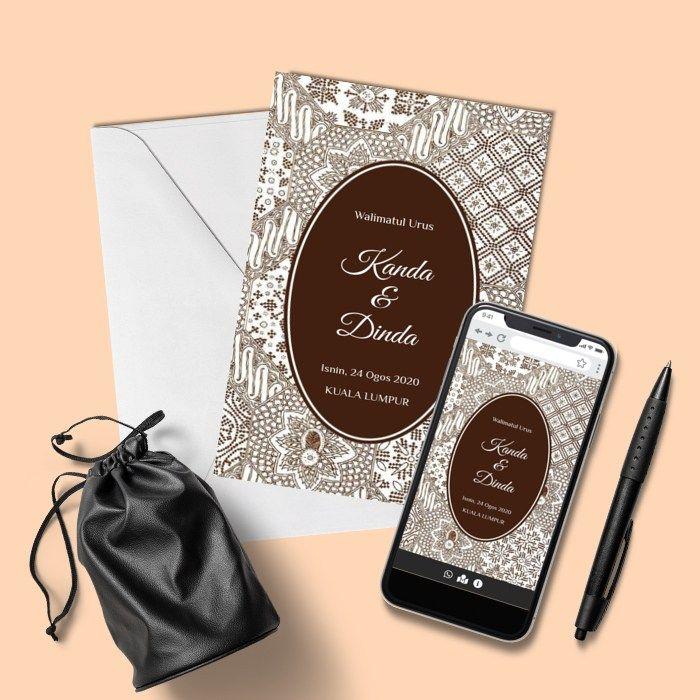 Design By Ijabdanqabul Online Invitations Vintage Sales Kad Kahwin