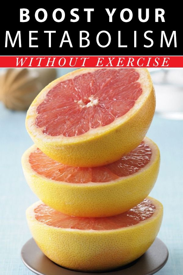 How to boost your metabolism without exercise.  - Weight Loss Tips - #WeightLossTips #WeightLoss #LoseWeight