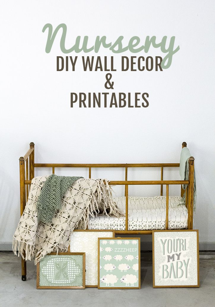 Diy Wall Art For Boy Nursery : Nursery wall decor color stories and