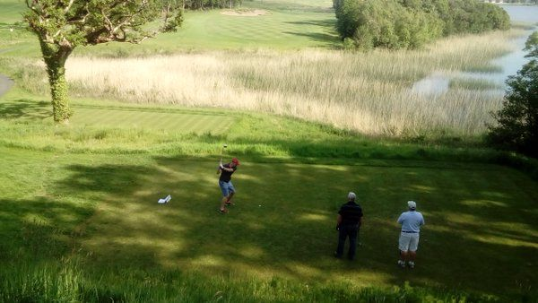 Guest images from @LoughErneResort #golf