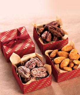 A perfect snack for your holiday guests. Candied Chili Pecans made with Torani Syrup
