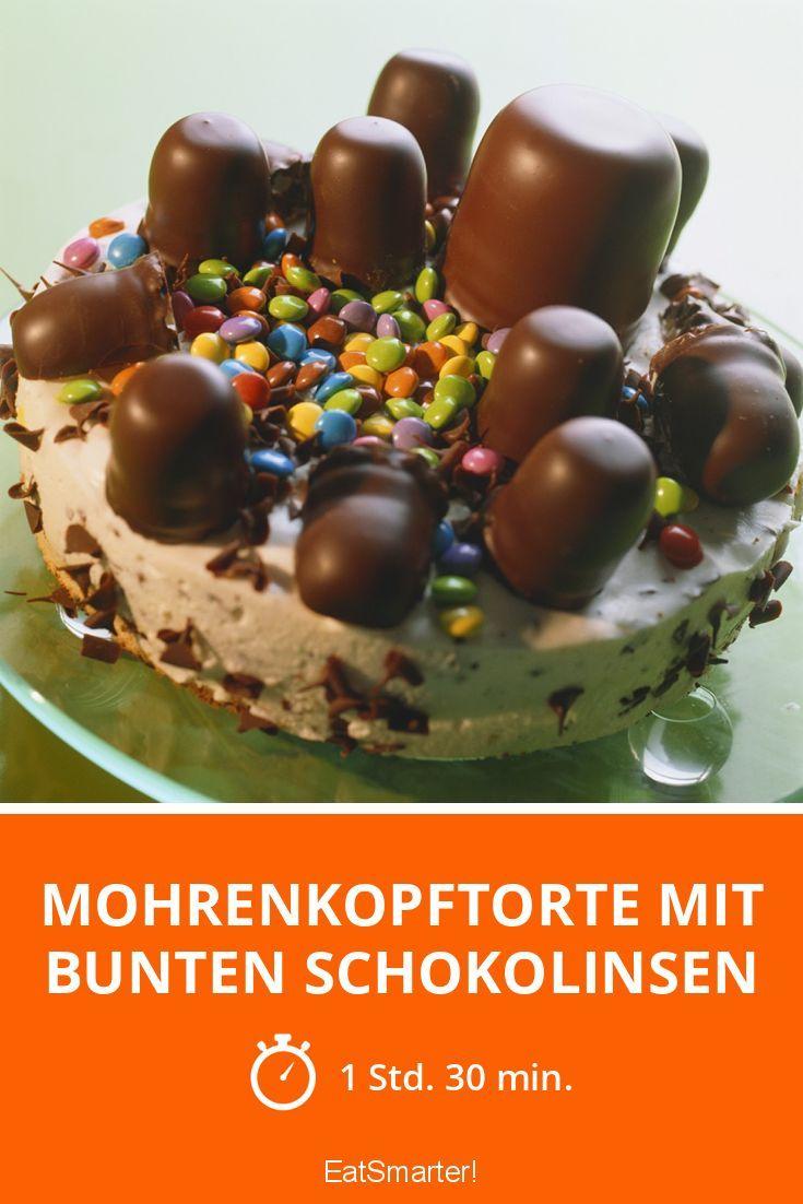 Mohrenkopftorte mit bunten Schokolinsen - smarter - Zeit: 1 Std. 30 Min. | eatsmarter.de