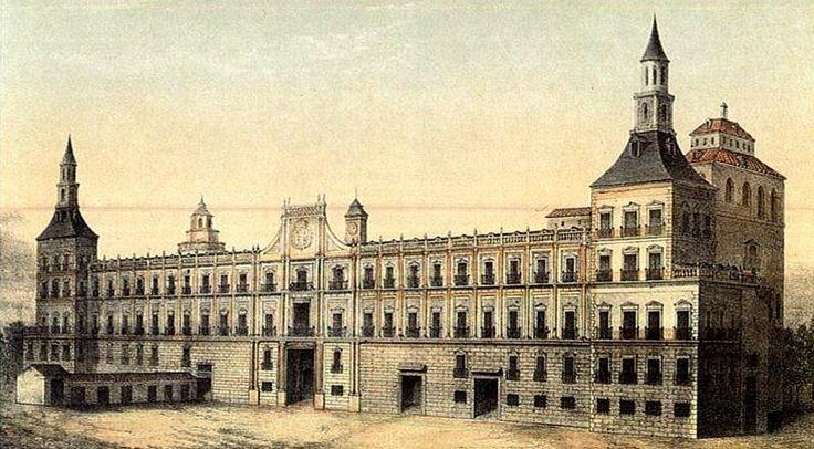 El real Alcázar hacia 1710