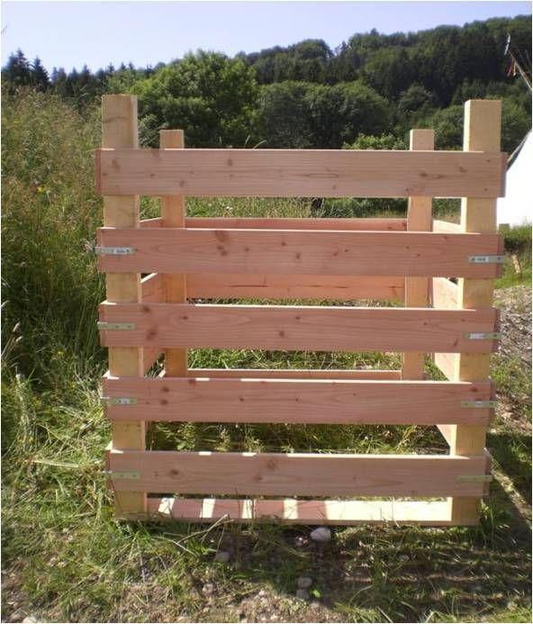 Die 25+ Besten Ideen Zu Komposter Auf Pinterest Bio Komposter Aus Holz Selber Bauen Anleitung In Einfachen Schritten
