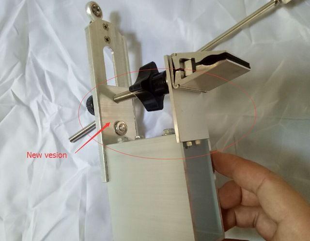 Новейшие KME заточки Портативный Вращения шеф-повара заточки ножей система 3 точильный камень (металл)