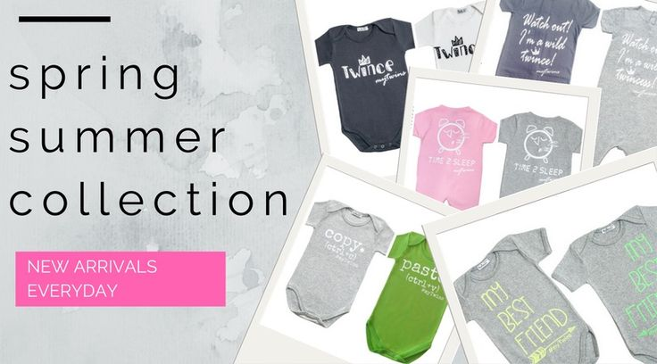 myTwins Spring Summer Collection is loading in our e-shop. Check now the funniest and cutest Twin Sets!