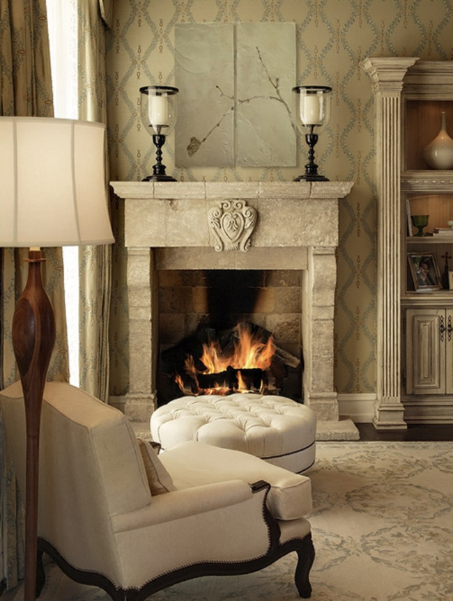 Best Fireplaces And Mantles Images On Pinterest Fireplace