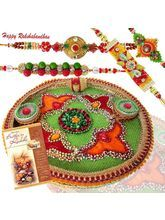 Online Rakhi Store: Send rakhi to India. Buy rakhi online and assure timely delivery of rakhi & rakhi gifts worldwide. Send rakhi to India from Veriety of rakhi & rakhi gifts at affordable price & free shipping on selective rakhis. This year, reaffirm this promise with rakhi gifts to your sister. Visit our online rakhi store and select a perfect gift for your sister. Infibeam has updated this Rakhi store with dazzling, designer rakhis.