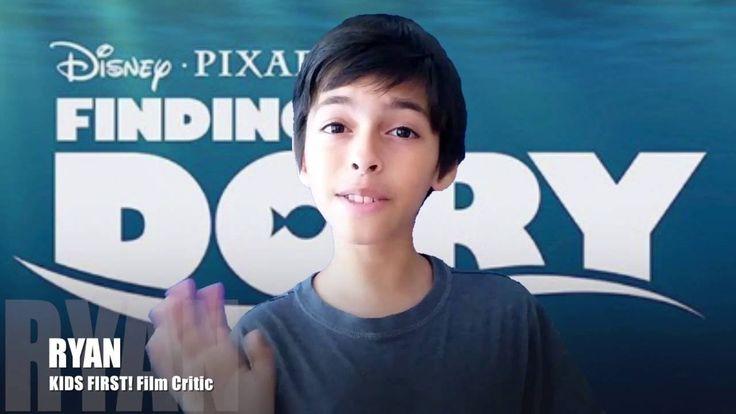 Film Review: Disney Pixar's Finding Dory by KIDS FIRST! Film Critic Ryan R. #KIDSFIRST! #Disney #PIXAR #FindingDory
