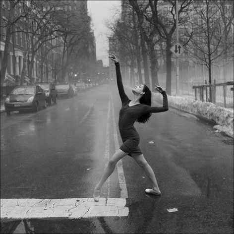 YES.  Urban spaces, unexpected dance, and gorgeous traditional exposure photography.  The Ballerina Project by  photographer Dane Shitagi in NYC.