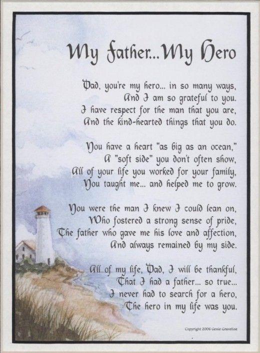 Inspirational Father Birthday Poem...