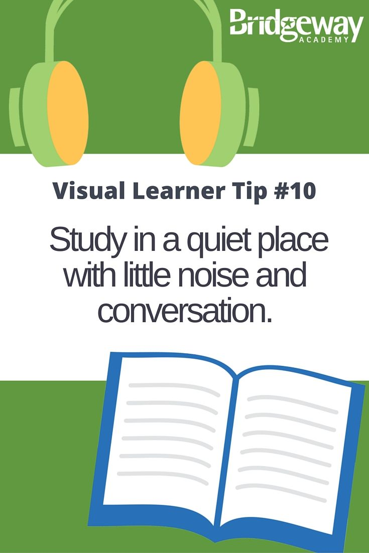 best images about visual learning style tips noise tends to distract visual learners so try to keep the noise at a minimum
