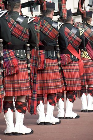 Do we really care what's under those kilts? Not when the bagpipes are playing....