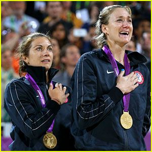 Misty May and Kerry win gold. Best Friends and Best teammates!