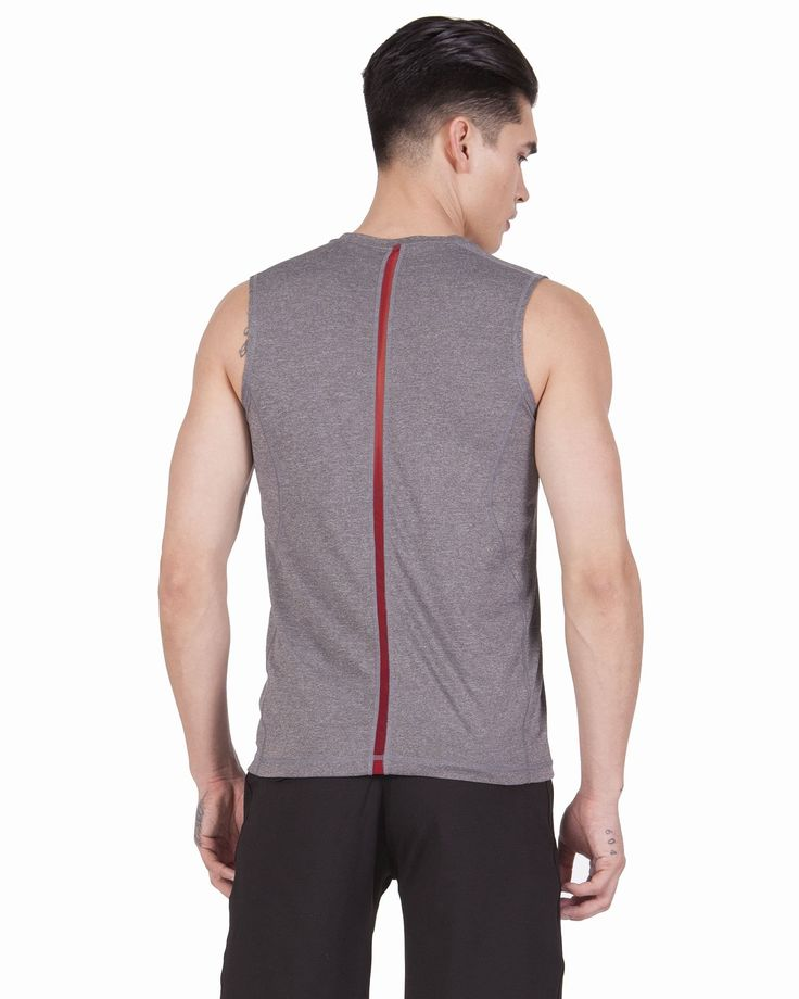 Essential Workout Tank in Heather Gray