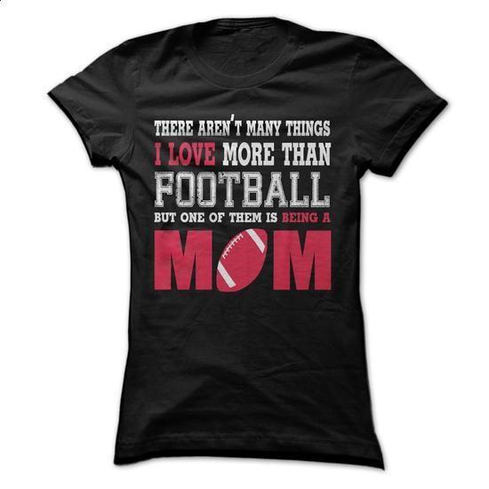 A football mom! - #short sleeve shirts #mens shirt. SIMILAR ITEMS => https://www.sunfrog.com/LifeStyle/A-football-mom-43636724-Guys.html?60505