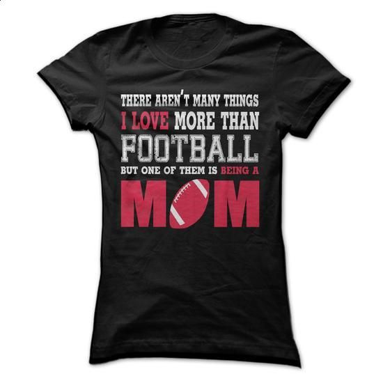 A football mom! - #short sleeve shirts #mens shirt. SIMILAR ITEMS => https://www.sunfrog.com/LifeStyle/A-football-mom-43636724-Guys.html?60505