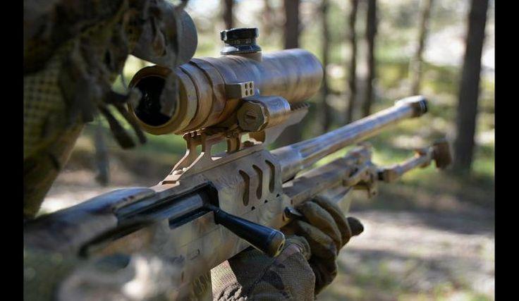 Snajperzy Błękitnej Brygady na ćwiczeniach | Defence24
