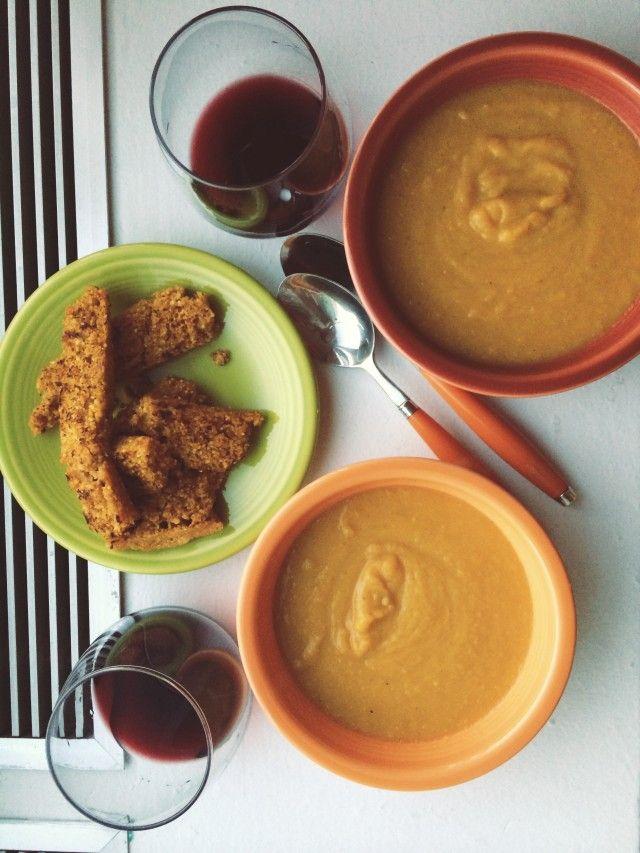 Butternut Squash & Apple Soup. | OH MY // DEVOUR | Pinterest