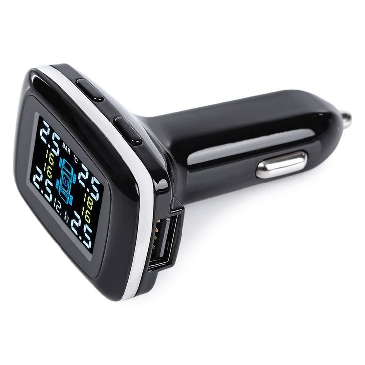 Professional TPMS 4 External Sensor Temperature Car Tire Pressure Alarm Auto Wireless Smart Digital  Alarm  Monitoring System #jewelry, #women, #men, #hats, #watches, #belts