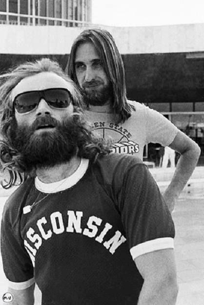 Phil Collins and Mike Rutherford.