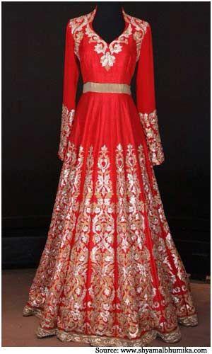 Shyamal and Bhumika Bridal Collection | Wedding Sarees, Dresses, Suits