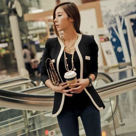 Korean Blazer | Smartshop KOREAN BLAZER/J104 ₱29O.OO Korean Plai Blazer Long Sleeves color : beige & black One size fits small - medium frame  http://besmartshopphcom.mysimplestore.com/products/korean-blazerj104