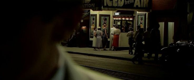 PUBLIC ENEMIES (2009) DP: Dante Spinotti | Dir: Michael Mann