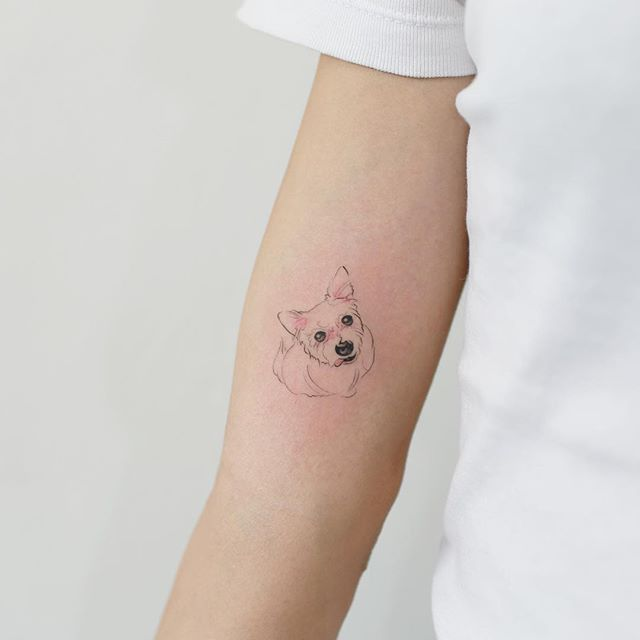 Adorable Pet tattoo