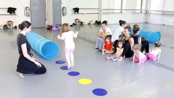 Children's Program - Dance With Me Class at Joffrey Ballet School