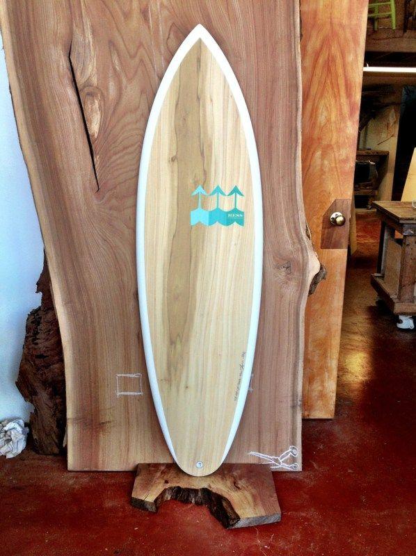 wood surfboard hess surfboards