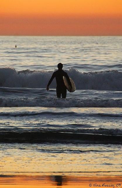 Del Mar beach, San Diego
