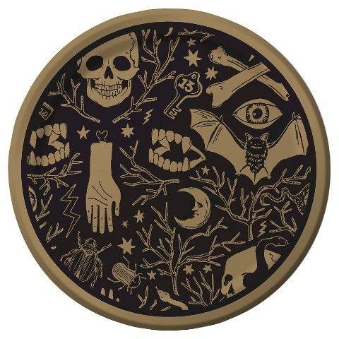 spritz spooky dinner plate 10ct 250 target halloween 2015 - Halloween Ceramic Plates