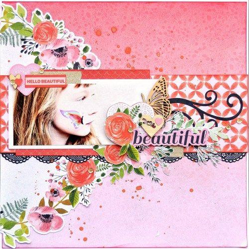 Kaisercraft TRUE LOVE Collection  KC Jan - TL - Beautiful 1