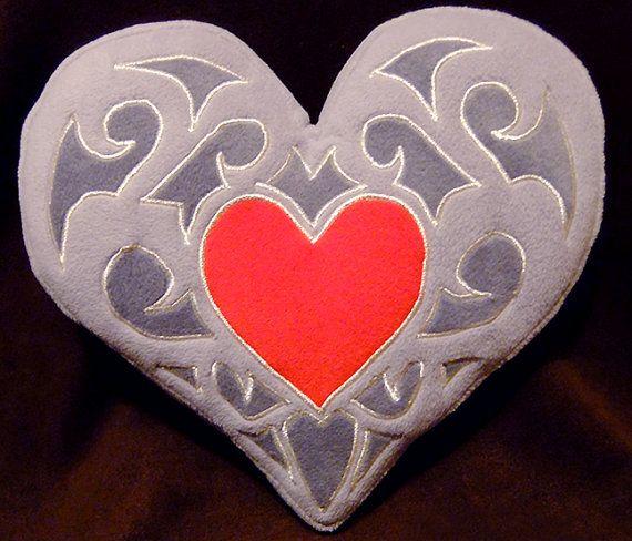 Skyward Sword Heart Piece pillow