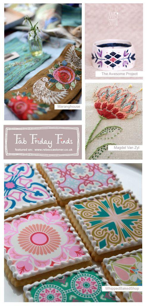 Fab Friday Finds - Week 6 - Folky - Rebecca Stoner www.rebeccastoner.co.uk