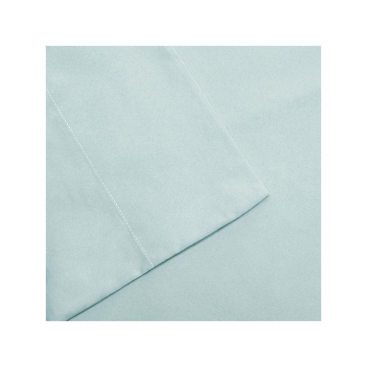 Madison Park 3M Scotchgard Microcell Deep-Pocket Sheets, Green Cal King