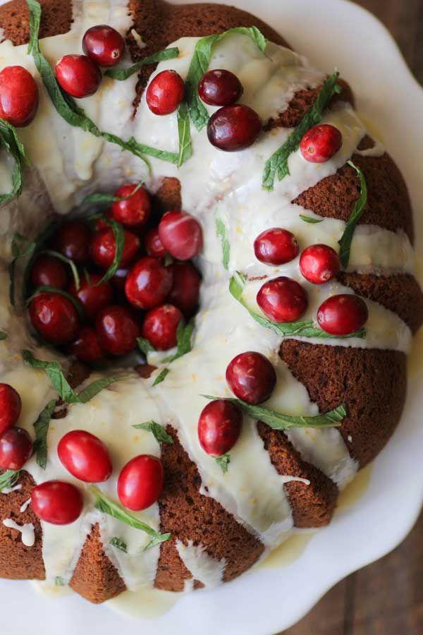 Cranberry-Citrus Coconut Bundt Cake (Gluten-Free) | Recipe | Cakes ...