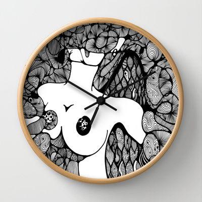 Fallen Angel, In Loving Memory Of Wall Clock by Katrina Berkenbosch  - $30.00