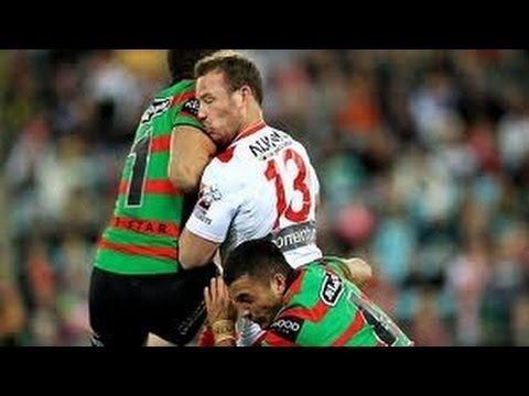 The top 5 knock outs in Rugby League from the NRL